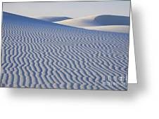 Patterns White Sands New Mexico Greeting Card