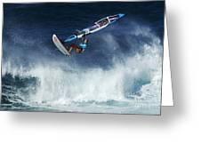 Beauty Of Windsurfing Maui 1 Greeting Card