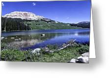 Beauty On The Beartooth Greeting Card