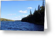 Beauty On The Lake Greeting Card