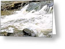 Beauty On The Eno River Greeting Card