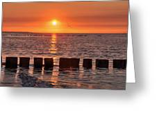 Beautyful Sunset Greeting Card