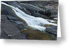 Beaver Falls Detail 1 Greeting Card