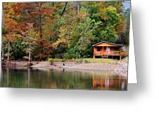 Beavers Bend Fly Shop Greeting Card