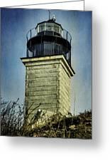 Beavertail Lighthouse  Greeting Card