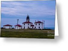 Beavertail Lighthouse. Greeting Card