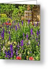 Becker Vineyards' Flower Garden Greeting Card