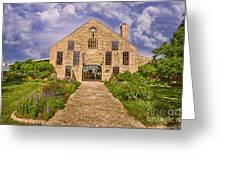 Becker Vineyards Winery Greeting Card