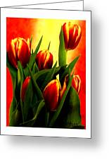 Becky Tulips Art2 Jgibney The Museum Gifts Greeting Card