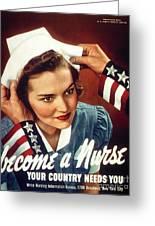 Become A Nurse Greeting Card