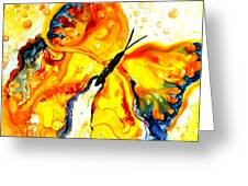 Becoming Butterfly Greeting Card