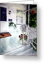 Bed And Breakfast Greeting Card