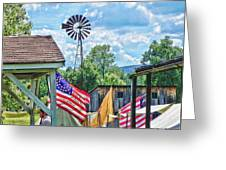 Bedford Village Pennsylvania Greeting Card