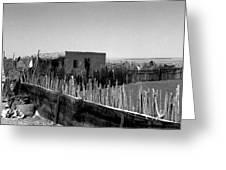 Bedouin Camp Greeting Card