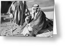 Bedouins In Jordan Greeting Card