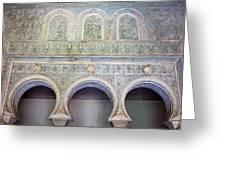 Bedroom Of The Moorish Kings In Real Alcazar Greeting Card