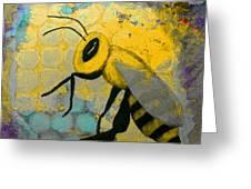 Bee Aware Greeting Card