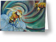 Bee Friends Greeting Card