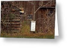 Bee Keepers Venue Greeting Card