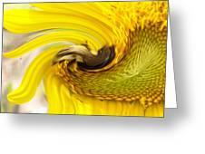 Bee Twirl Greeting Card