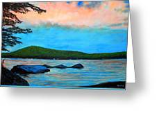 Beech Hill Pond Greeting Card