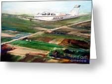 Beechcraft Bonanza Greeting Card