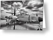 Beechcraft C-12 Huron Greeting Card
