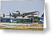 Beechcraft D-18 Greeting Card