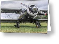 Beechcraft Staggerwing Greeting Card