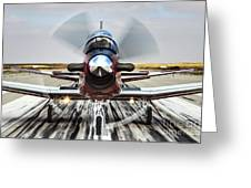 Beechcraft T-6a Texan II D Greeting Card