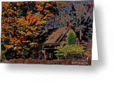 Beehive House 2 Greeting Card