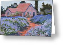 Beekman Lavender Field Greeting Card