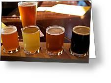 Beer Sampler Greeting Card