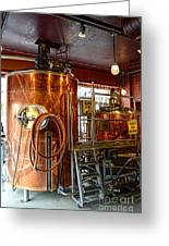 Beer - The Brew Kettle Greeting Card