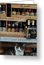 Beers Warden Greeting Card