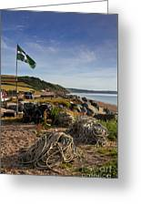 Beesands Greeting Card