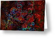 Beethoven's Swirl Dancing Greeting Card