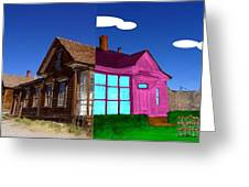 Before And After House Greeting Card
