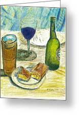 Before Prime Rib Greeting Card by William Killen