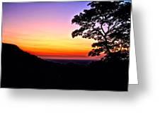 Zambia - Just Before Sunrise  Greeting Card