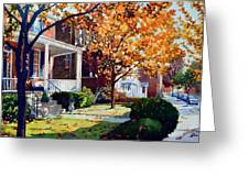 Before The Snow Falls Greeting Card