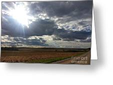 Before The Snow Flies Greeting Card