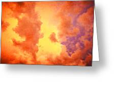 Before The Storm Clouds Stratocumulus 2 Greeting Card