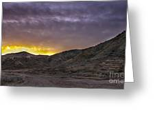 Before The Sun Greeting Card