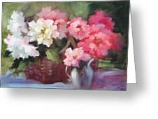 Begonias Greeting Card