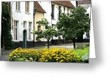 Beguinage Lier - Belgium Greeting Card