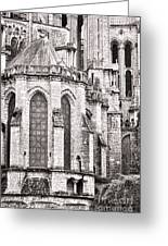Behind The Cathedral Greeting Card