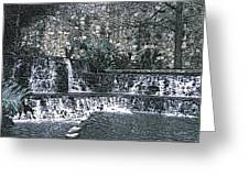 Behold The Waterfall Greeting Card