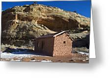 Behunin Cabin Capitol Reef National Park Utah Greeting Card