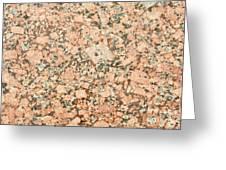 Beige Granite  Greeting Card